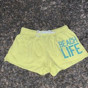 Other - cute yellow beach shorts🔆